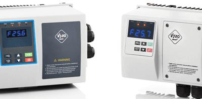 Frekvenčné meniče X550 IP65 na 230V